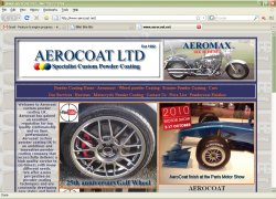 Click to go to the Aerocoat website