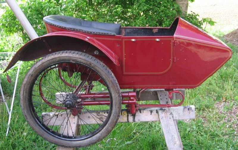 Indian Parts Europe - Indians for Sale - 1921 Powerplus Sidecar